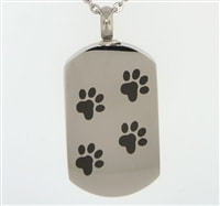 Dog Tag Pet Urn Jewelry in Moore OK at Heavenly Pets Oklahoma